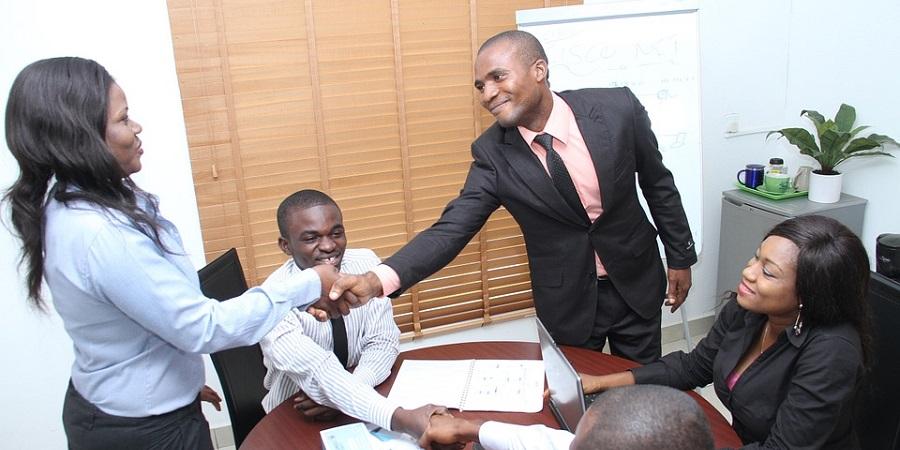 Seminar Office Presentation Colleagues Business